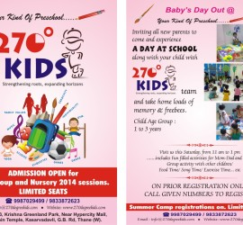 Baby's Day Out @ 270º Kids